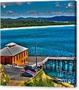 Tathra Wharf Acrylic Print by Joanne Kocwin