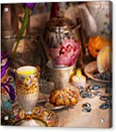 Tea Party - The Magic Of A Tea Party  Acrylic Print by Mike Savad