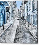 Telegraph Hill Blue Acrylic Print by Scott Norris