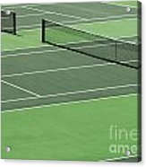 Tennis Court Acrylic Print by Blink Images