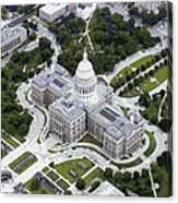 Texas Capitol Color 16 Acrylic Print by Scott Kelley