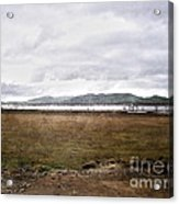 Textured Land Acrylic Print by Joanne Kocwin
