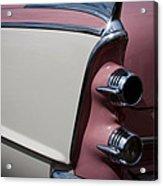 The 1955 Dodge Royal Lancer Sedan Acrylic Print by David Patterson