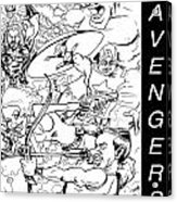 The Advengers Acrylic Print by Big Mike Roate