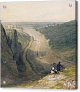 The Avon Gorge - Looking Over Clifton Acrylic Print by Francis Danby