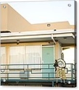 The Balcony Of The Lorraine Motel Where Acrylic Print by Everett