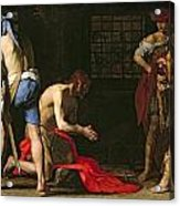 The Beheading Of John The Baptist Acrylic Print by Massimo Stanzione