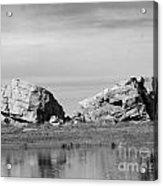 The Big Rock   Okotoks Erratic Acrylic Print by Al Bourassa