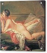 The Blonde Odalisque Acrylic Print by Francois Boucher