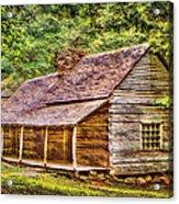The Bud Ogle Homestead Acrylic Print by Barry Jones