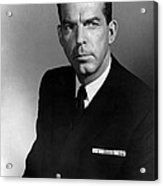 The Caine Mutiny, Fred Macmurray, 1954 Acrylic Print by Everett