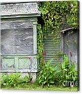 The Canna Farm Acrylic Print by Anne Kitzman