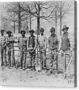 The Chain Gang, Thomasville, Georgia Acrylic Print by Everett