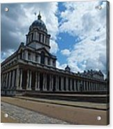 The Chapel At The Royal Naval College Acrylic Print by Anna Villarreal Garbis