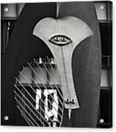 The Chicago Picasso Acrylic Print by Adam Romanowicz