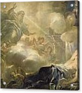 The Dream Of Solomon Acrylic Print by Luca Giordano