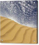 The Dunes Acrylic Print by Mike McGlothlen