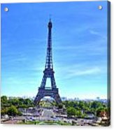 The Eiffel Tower Acrylic Print by Barry R Jones Jr