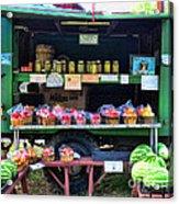 The Farmers Market Acrylic Print by Paul Ward