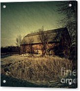 The Hiding Barn Acrylic Print by Joel Witmeyer