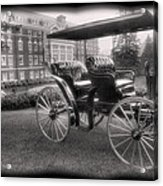 The Homestead Carriage I Acrylic Print by Steven Ainsworth