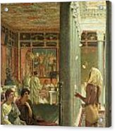 The Juggler Acrylic Print by Sir Lawrence Alma-Tadema
