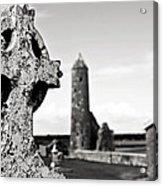 The Keltic Cross Acrylic Print by Zarija Pavikevik