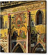 The Last Judgment - St Vitus Cathedral Prague Acrylic Print by Christine Till