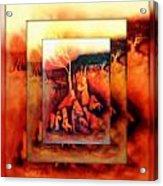 The Letter 2 Acrylic Print by Joan Kamaru