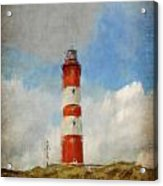 The Lighthouse Amrum Acrylic Print by Angela Doelling AD DESIGN Photo and PhotoArt