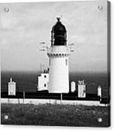 The Lighthouse At Dunnet Head Most Northerly Point Of Mainland Britain Scotland Acrylic Print by Joe Fox