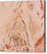 The Lily Who Waits Acrylic Print by Deborah Montana