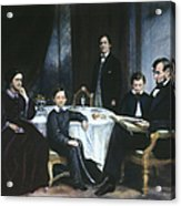 The Lincoln Family Acrylic Print by Granger