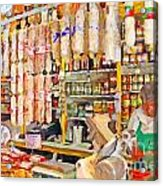 The Local Deli Acrylic Print by Wingsdomain Art and Photography