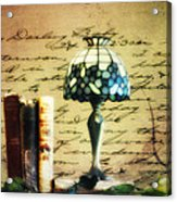 The Love Letter Acrylic Print by Bill Cannon