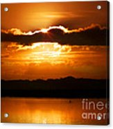 The Magic Of Morning Acrylic Print by Karen Wiles