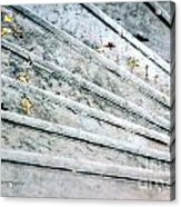 The Marble Steps Of Life Acrylic Print by Vicki Ferrari