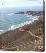 The Marin Headlands - California Shoreline - 5d19593 Acrylic Print by Wingsdomain Art and Photography