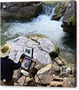 The Narrows Quality Time Acrylic Print by Bob Christopher