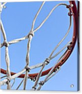 The Net And No Game Acrylic Print by Nicholas Evans
