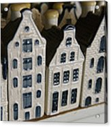 The Netherlands, Amsterdam, Model Houses Acrylic Print by Keenpress