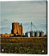 The Old Grain Mill Acrylic Print by Kelly Reber