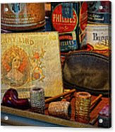 The Old Smoke Shop Acrylic Print by Dave Mills