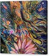 The Orange Wind Can Be Purchased Directly From Www.elenakotliarker.com Acrylic Print by Elena Kotliarker