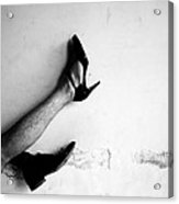 The Other Shoe 3 Acrylic Print by Sumit Mehndiratta