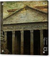 The Pantheon's Curse Acrylic Print by Lee Dos Santos