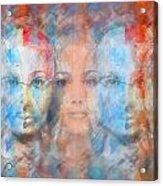 The Passage Fragment Acrylic Print by Andrea Ribeiro