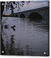 The Potomac Rivers Acrylic Print by Stephen St. John