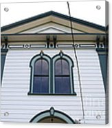 The Potter School House . Bodega Bay . Town Of Bodega . California . 7d12482 Acrylic Print by Wingsdomain Art and Photography