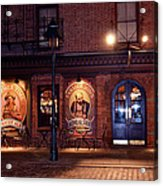 The Pub Acrylic Print by Terry Wallace